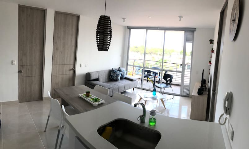 Apartamento Nuevo Familiar o Pareja de Descanso