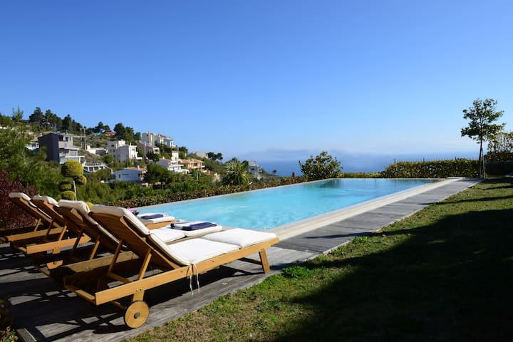 Sea-view from the pool