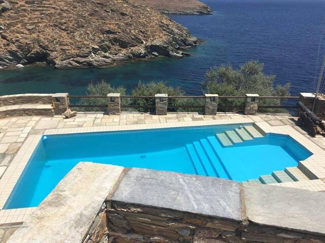 The Aegean dream on a seaside villa