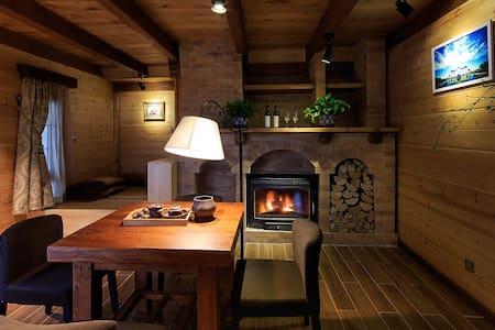 竹喧庐之带露台壁炉树屋 - Pékin