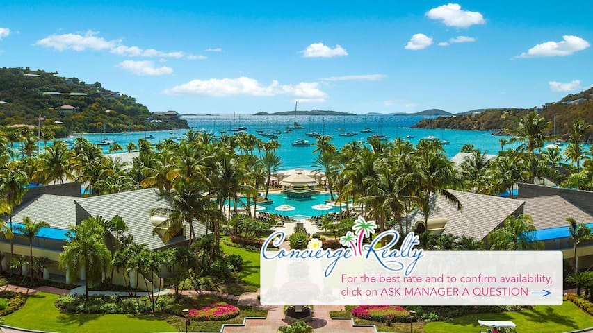 Studio villa at Westin St. John, Virgin Grand.