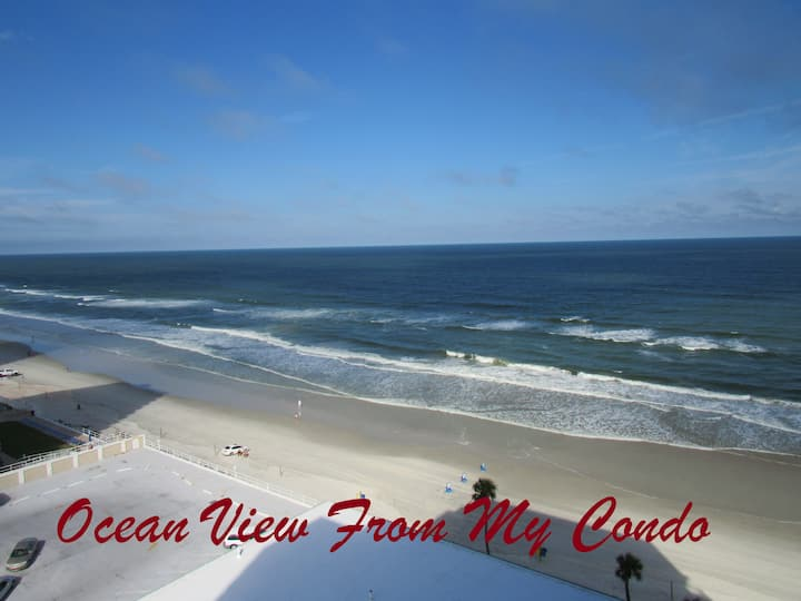 Relax in a World Class Resort w/Ocean Front & View