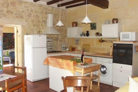 Belle maison non loin de Saint émilion - Saint-Aubin-de-Branne - Talo