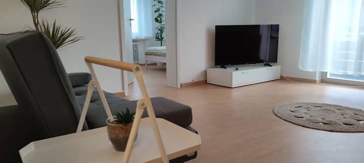 Schöne, renovierte und optimal gelegene Wohnung OG