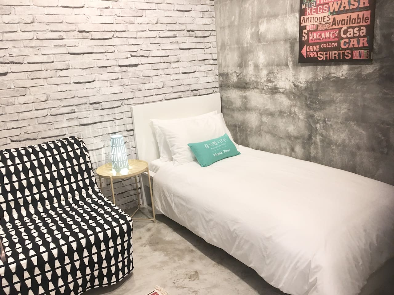 Single Room With Sofa Bed