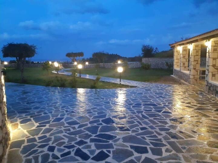 Villa Manolis -private area