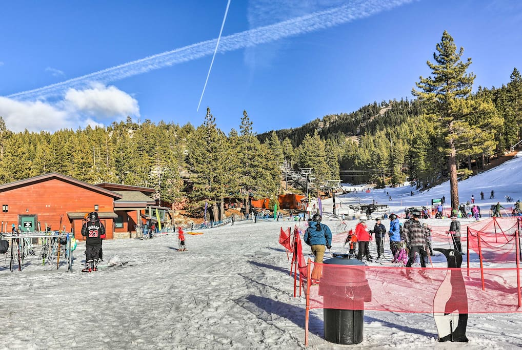 Diamond Peak Ski Resort is just 1 mile from the condo!