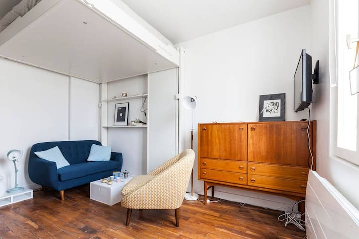 Small Parisian nest in Goncourt