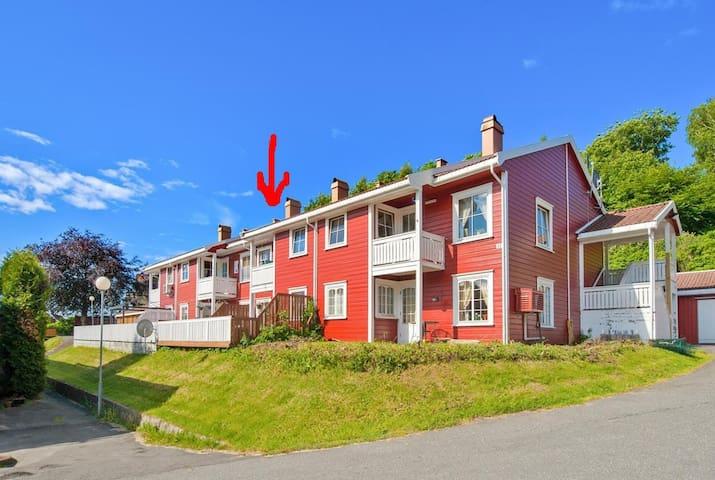 Koselig leilighet sentralt på sørlandet.