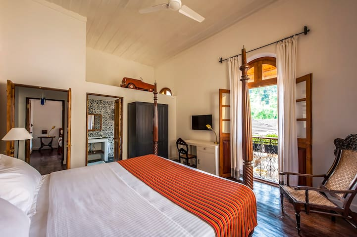 Luxury Heritage Boutique stay in Fontainhas Goa