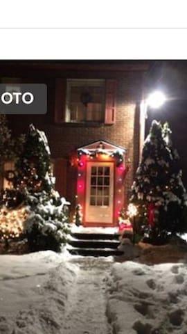 Christmas season at Olde World Charm