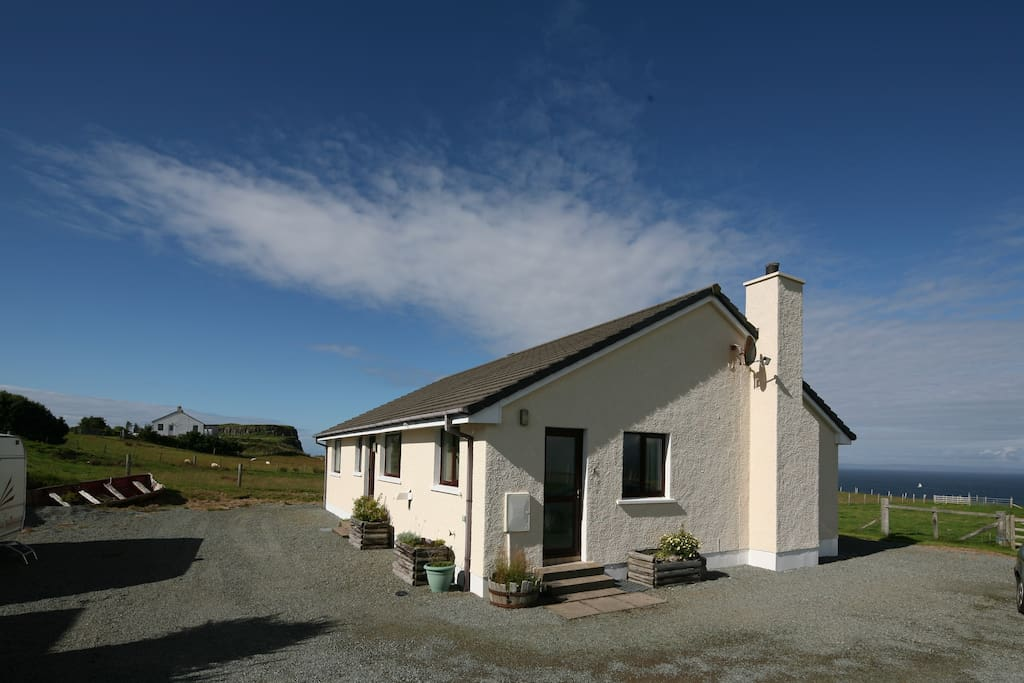 self catering cottage by the sea on the Isle of Skye.