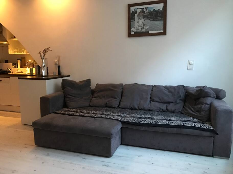 Super comfortable lounge couch