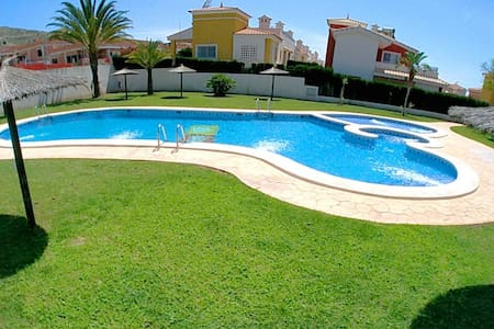 New cubic style house near Campello beach