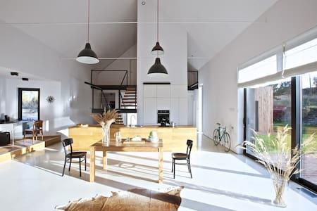 House in the landscape - Zawiercie - Haus