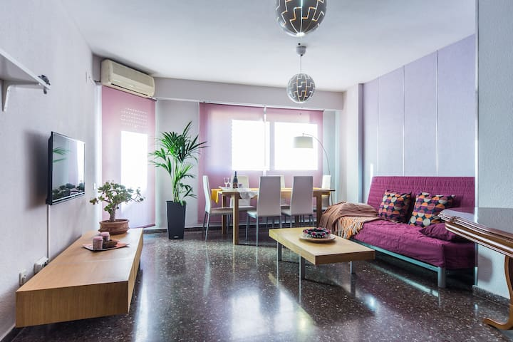 Nice and large flat in Valencia - València - Wohnung