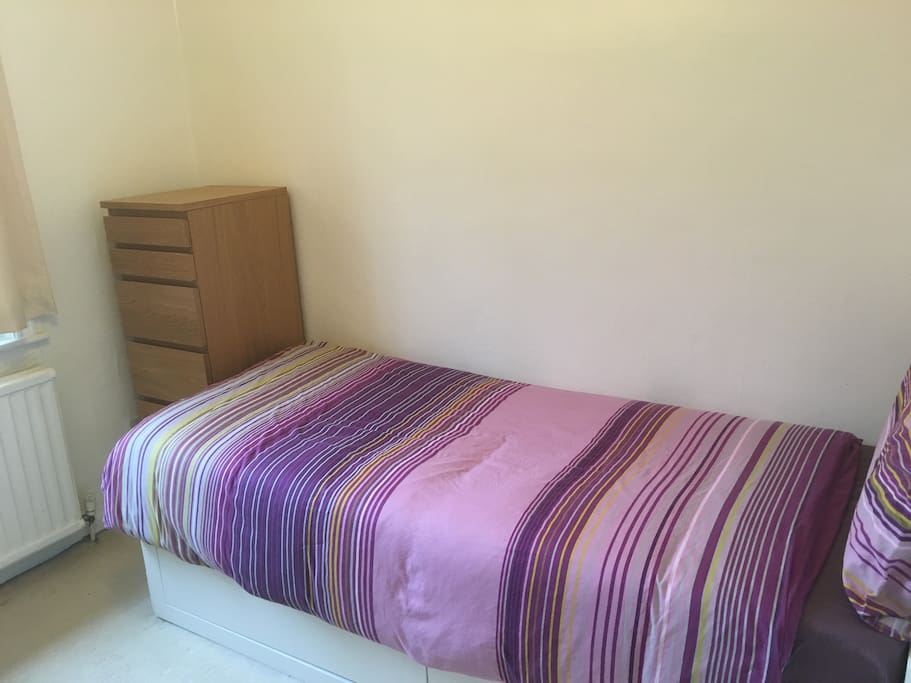 Bedroom 2 - bed converts into a double.