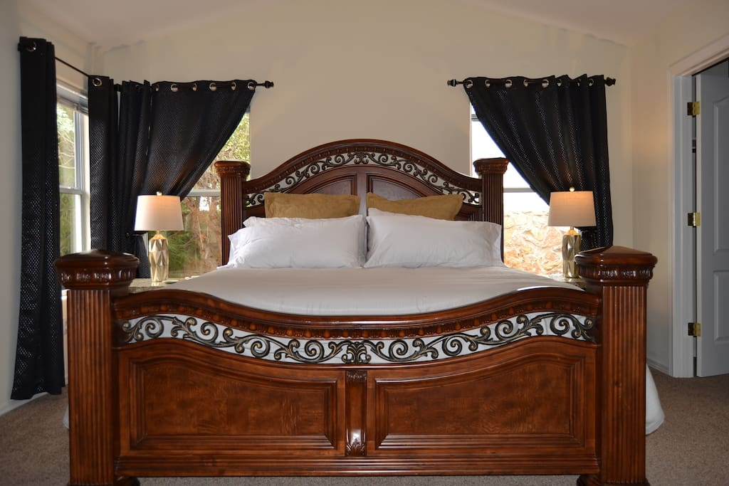 Our Stately Master - King Size Bed