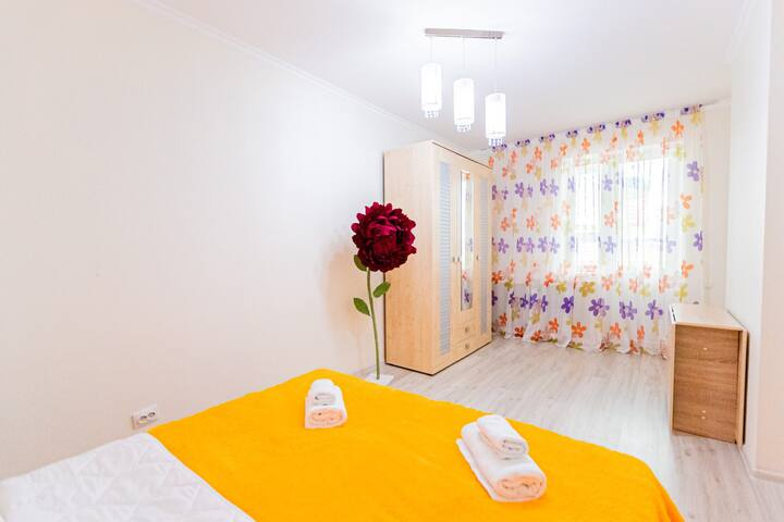 Светлая, уютная, просторная 2-комнатная квартира