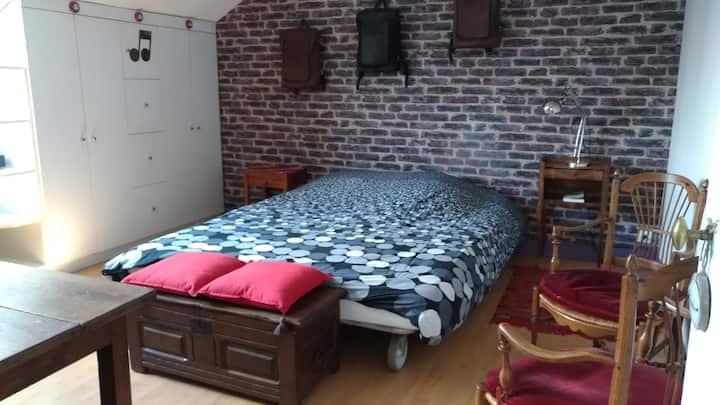 Belle chambre double au calme