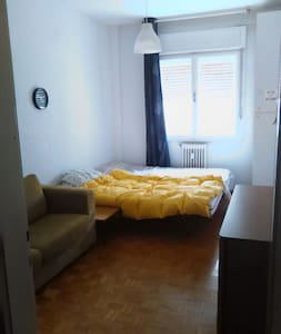 Comfortable room for 2. Elevator and balcony! - Trieste - Lejlighed
