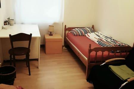 Zimmer im Grünen und doch zentral - Sankt Gallen - Lägenhet