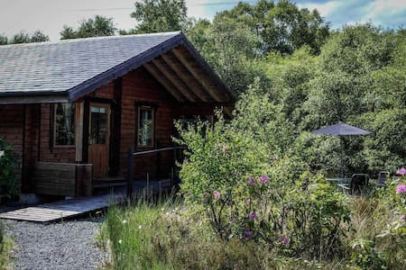 Hart of Mull Log Cabin 2