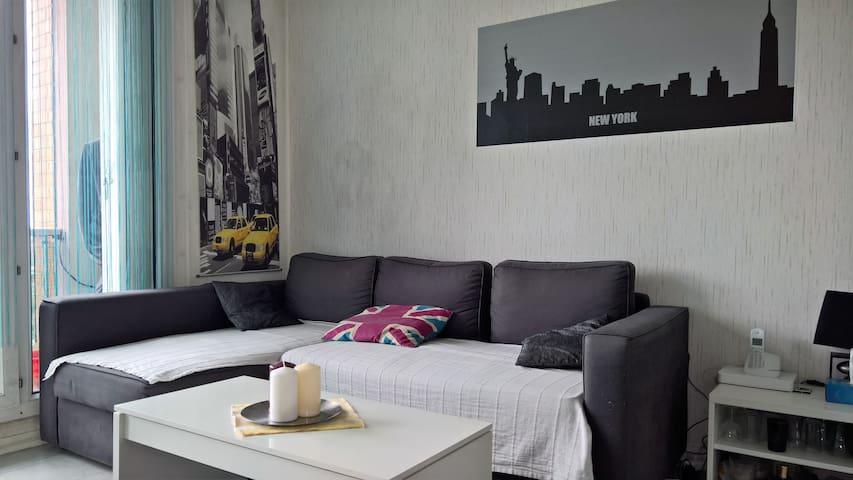 Chambre dans F4 - Franconville - Apartamento
