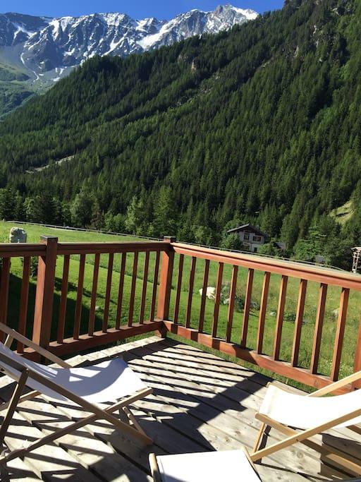 autre vue depuis la terrasse