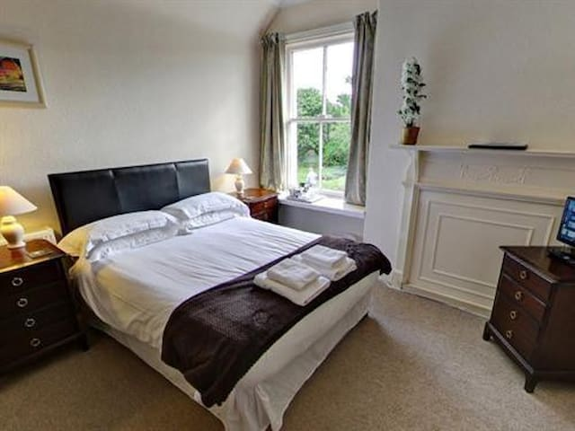 Double room at Smiddy Haugh Hotel