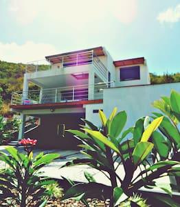 Studio vue mer ,terrasse 25m2 et piscine - Cole Bay - อพาร์ทเมนท์