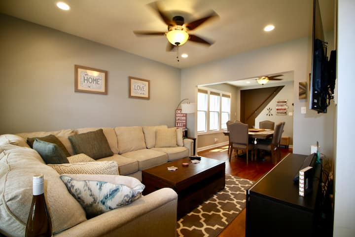 The JP inn - Explore Chicago from safe 4 BR home