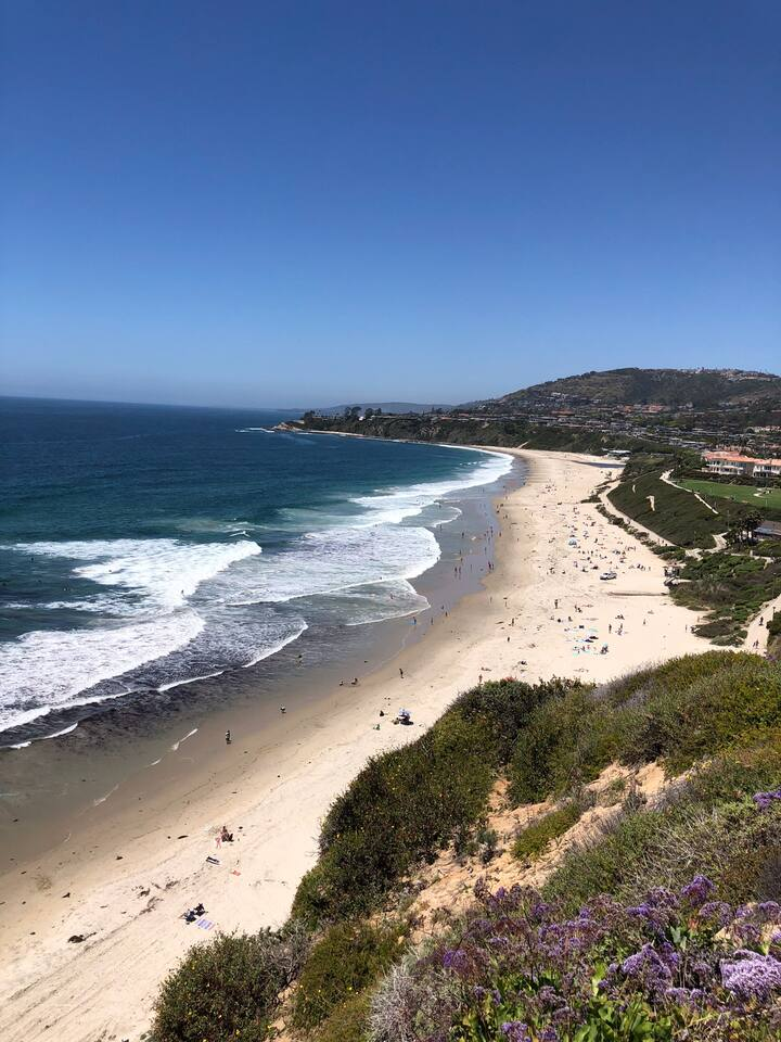 Between San Clemente and Laguna Beach. Location