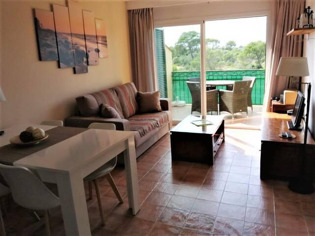 Acogedor y familiar apartamento cerca de la playa