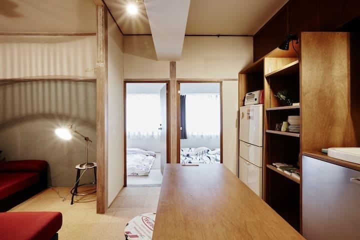 2B Room&1Living,TOKYO Dome1min,Shinjuku12min,7peop - 文京区 - Leilighet