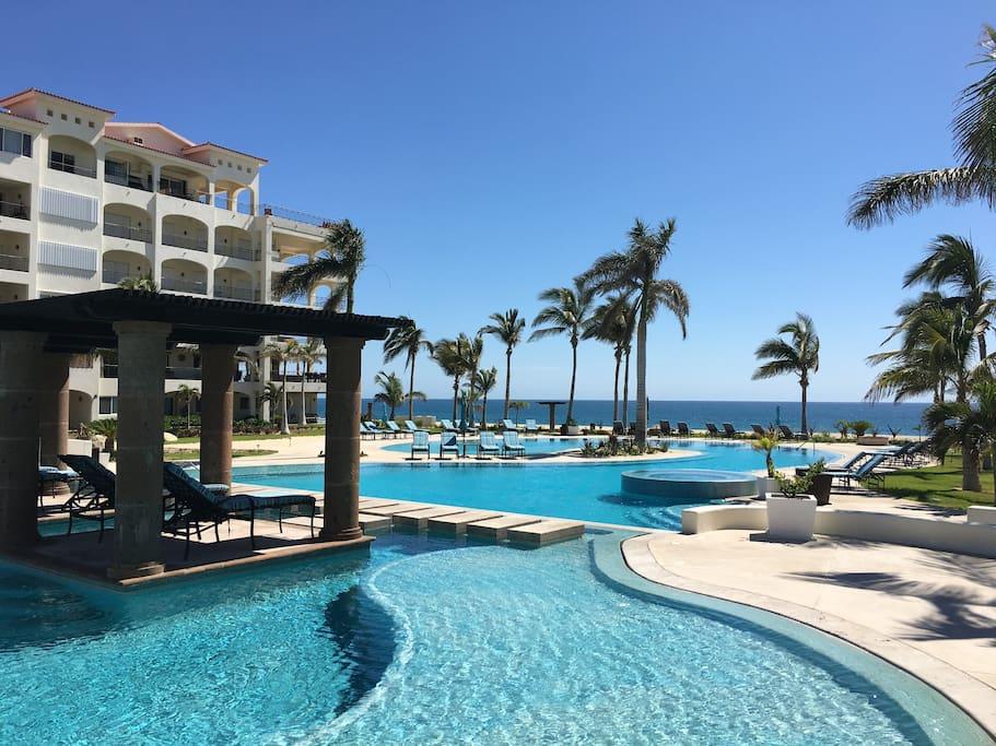 Resort style big pool