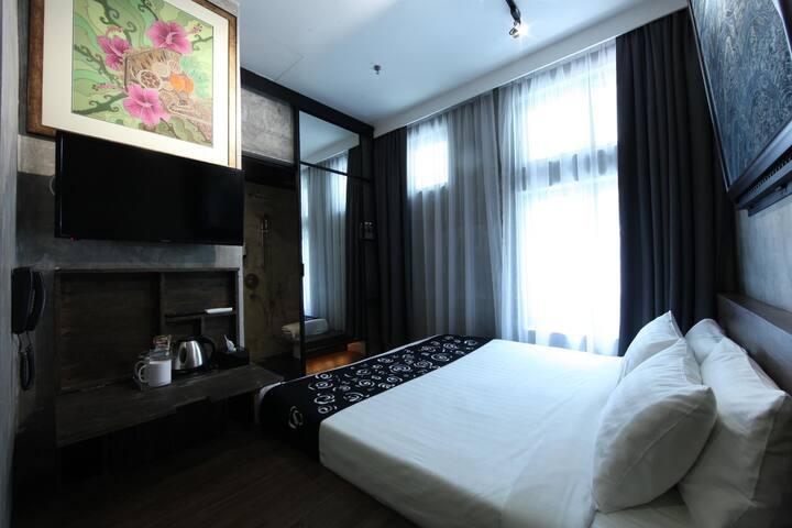 Queen Room 1-Hulo Hotel Bukit Bintang -