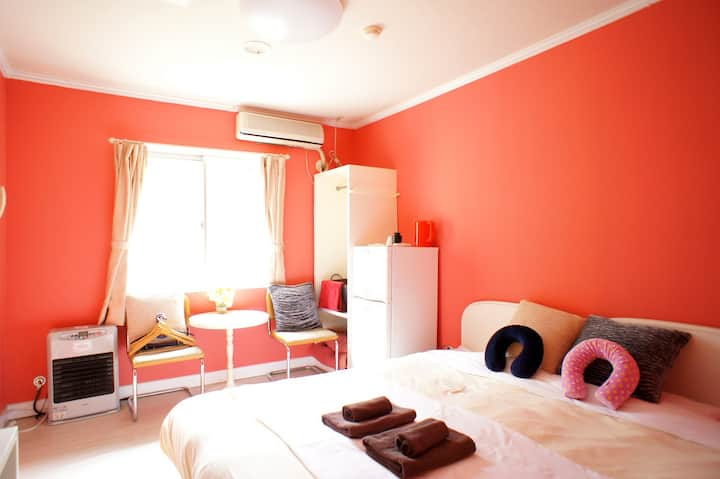 ☆room for1or2 perso☆10min walk FromSta.Freepickup
