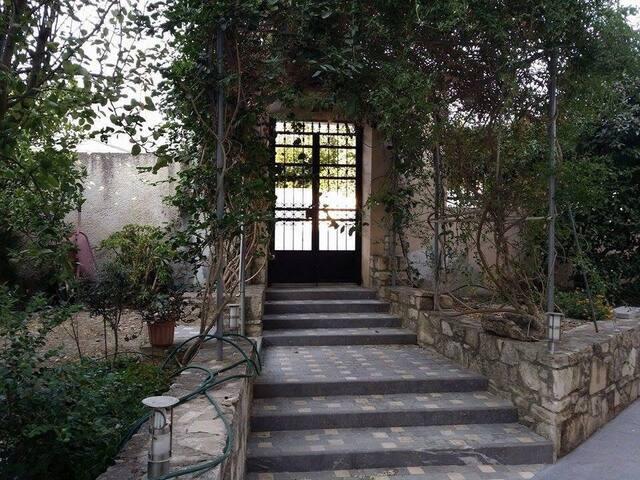 Maison traditionnelle à Agioi Deka