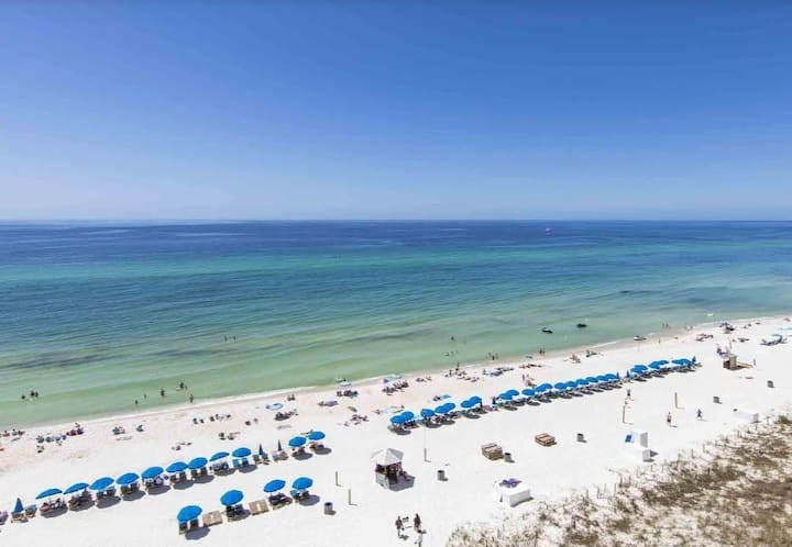 BEACHFRONT CONDO! Gulf Front Master 1/2 Luxury Condo located near Pier Park!