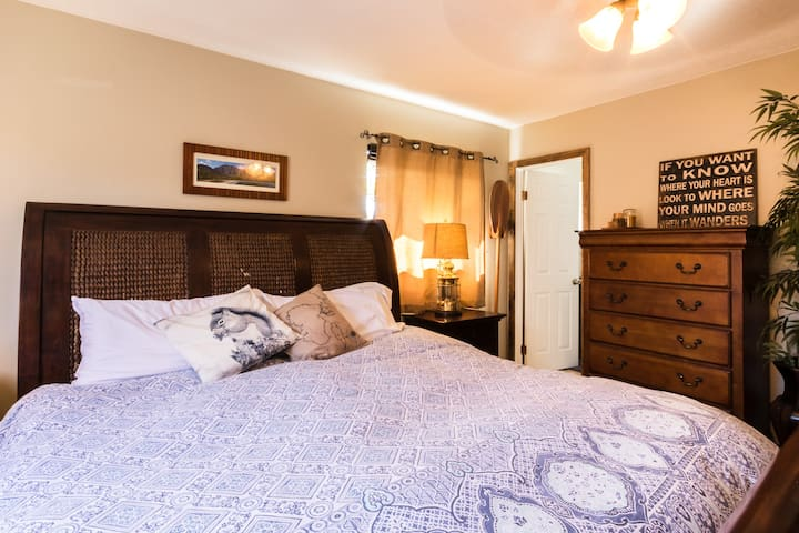 Master suite with luxury ensuite shower room