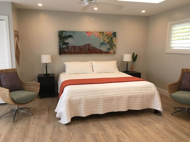 Contemporary Beach Studio Apartment - Kailua - Pis