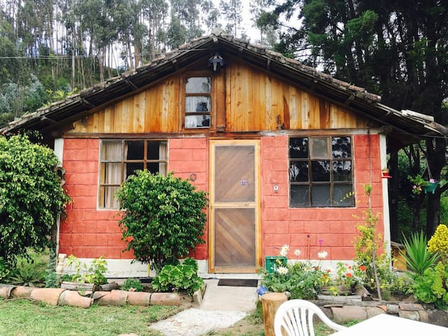 Lodginghouse in the countryside. :- - Otavalo