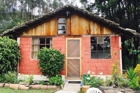 Lodginghouse in the countryside. :- - Otavalo - Cabana