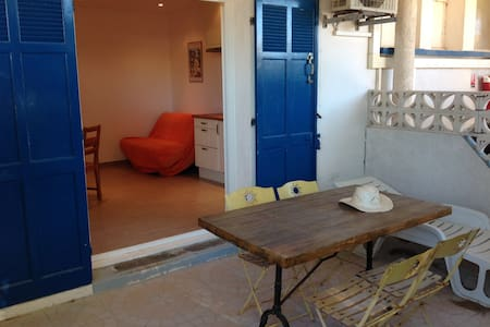 Apartement with direct access to the beach - Hyères - Apartment