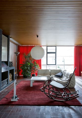 Beautiful 60's house near Atomium