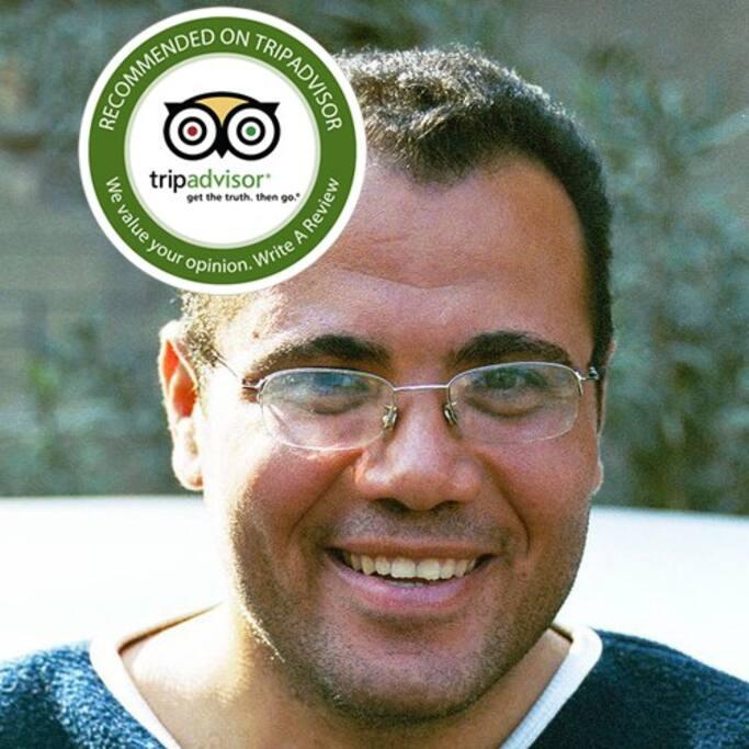 Reviewed on TripAdvisor Tamer Mina Egypt Guide
