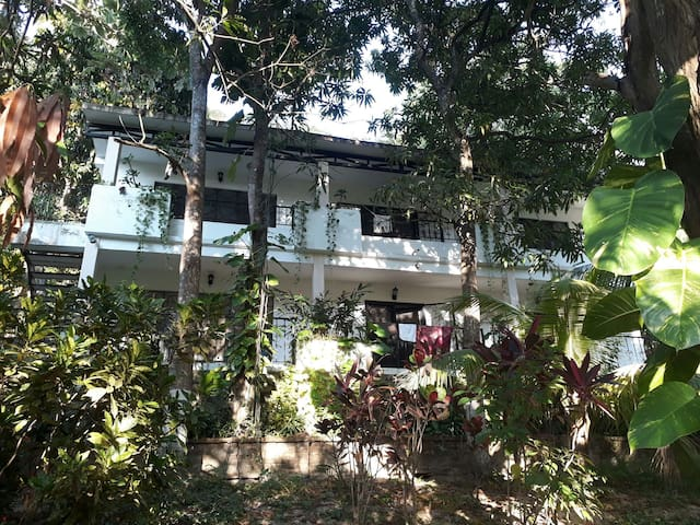 Garden apt - large tranquil 2nd floor 2 bed/2 bath