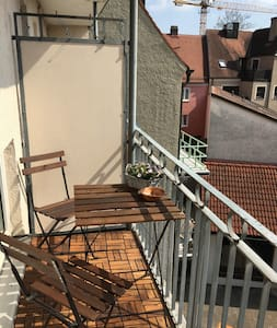 Modern & fully equiped apartment in the center - Augsburg - Huoneisto