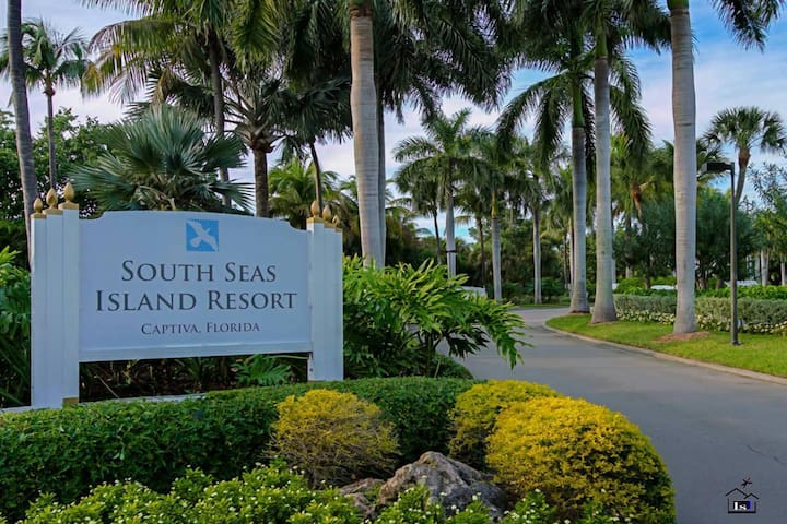 Located within the prestigious South Seas Resort, my unit occupies a position at the very tip of Captiva Island facing beautiful Sanibel, Pine Island Sound, and Redfish Pass